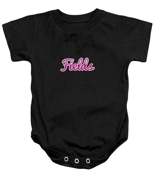 Fields #fields Baby Onesie
