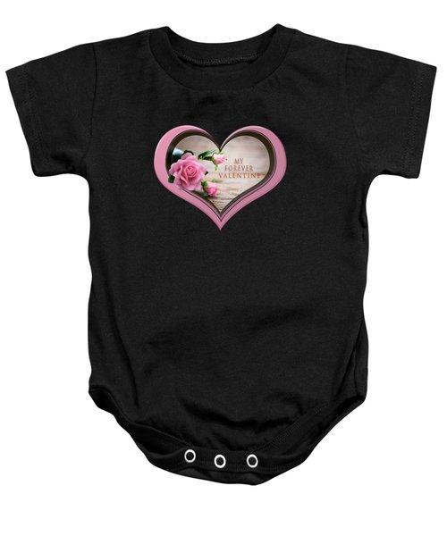 Forever Valentine Baby Onesie