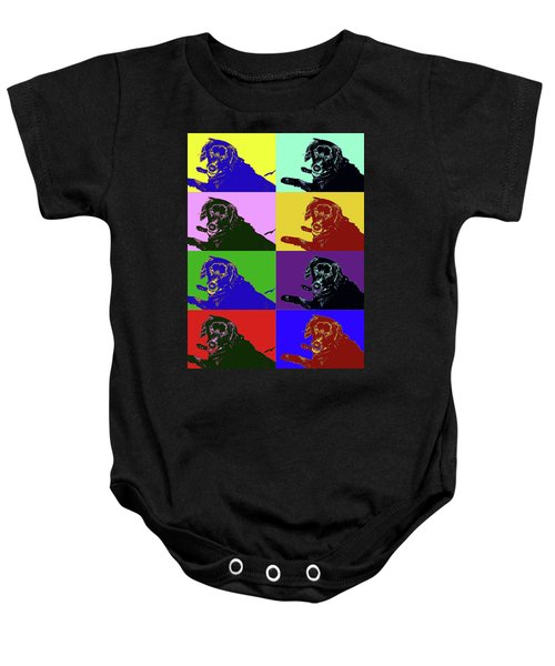 Foster Dog Pop Art Baby Onesie