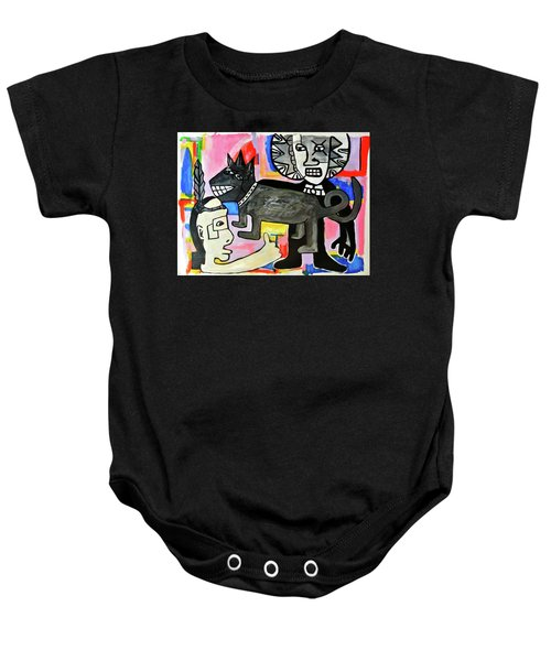 Friends You And I  Baby Onesie