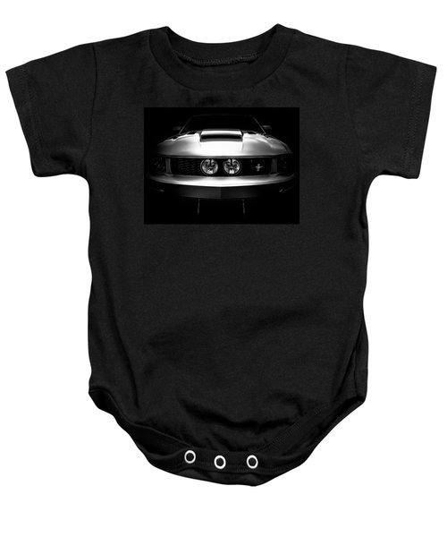 From The Shadows - Ford Mustang Gt California Special - American Muscle Car Baby Onesie