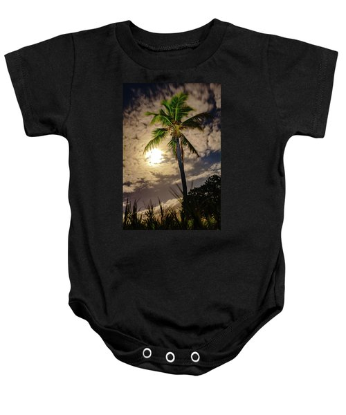 Full Moon Palm Baby Onesie