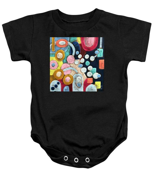 Geometric Abstract 3 Baby Onesie