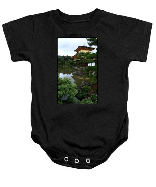 Golden Pavilion-kyoto Baby Onesie