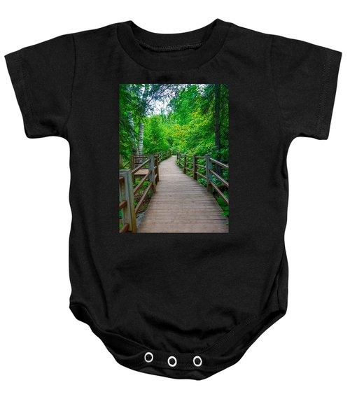 Gooseberry River Trail Baby Onesie
