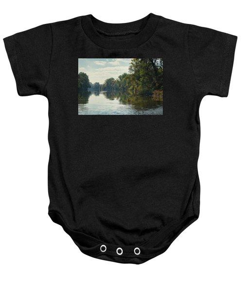 Great Morava River Baby Onesie