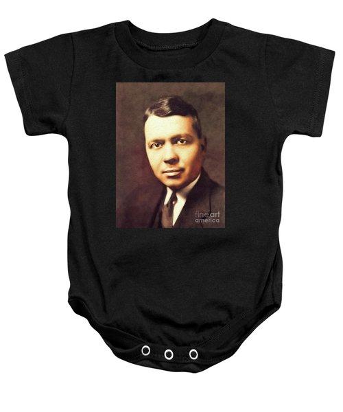 Harold Clayton Urey, Famous Scientist Baby Onesie
