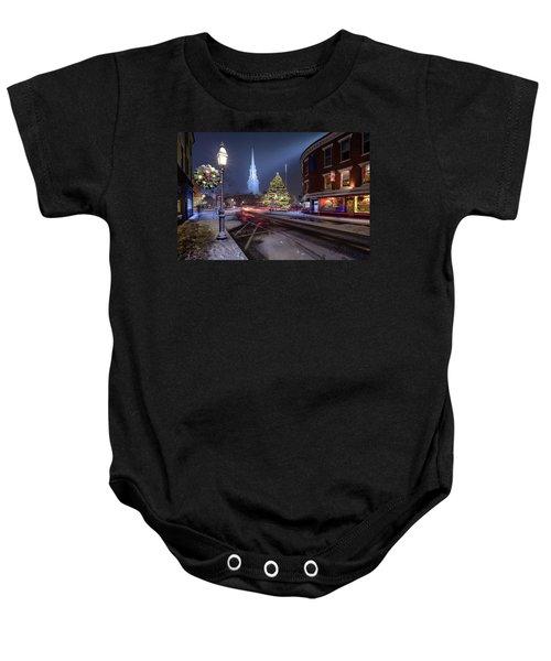 Holiday Magic, Market Square Baby Onesie