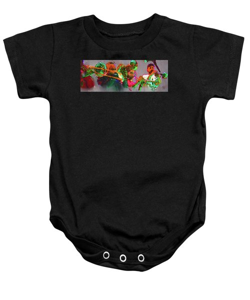 Horn Section Baby Onesie