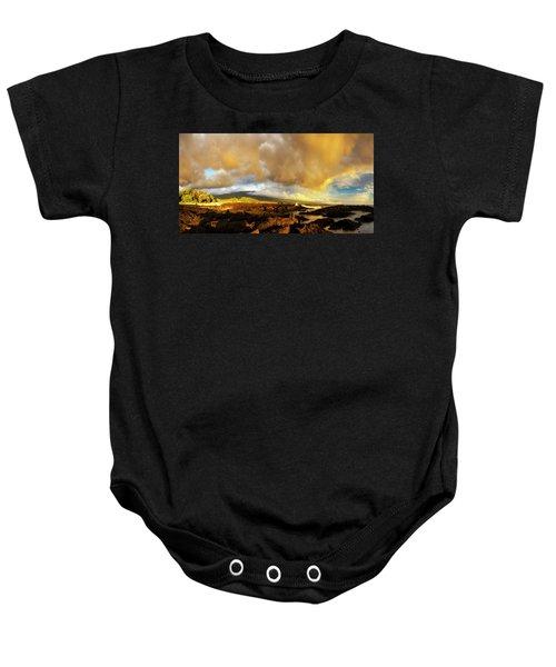 Hualalai Sunset Baby Onesie