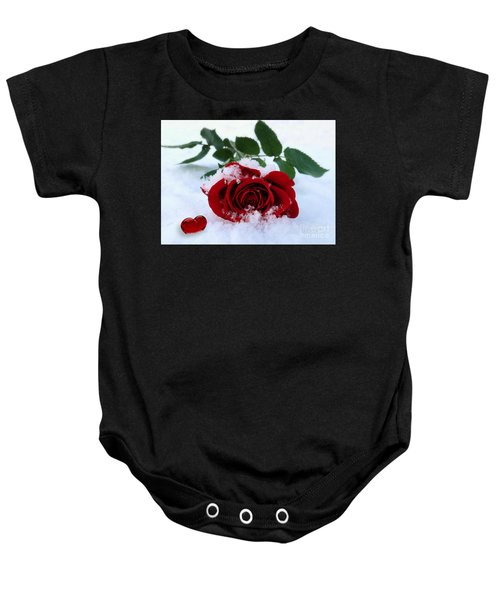 I Give You My Heart Baby Onesie