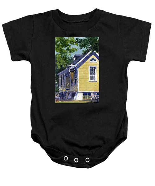 Ice Parlor At Paoli Baby Onesie