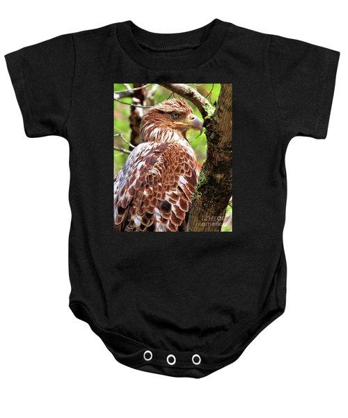 Immature Eagle Baby Onesie