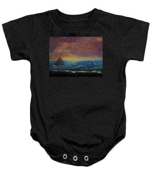 Impressions Of The Sea Baby Onesie