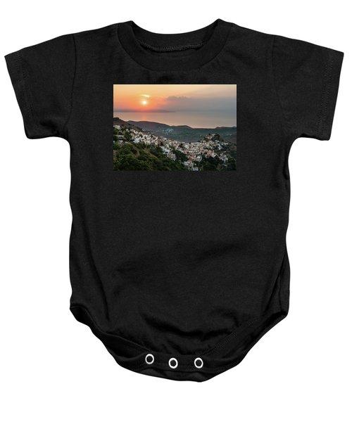 Ioulis Town Sunset, Kea Baby Onesie