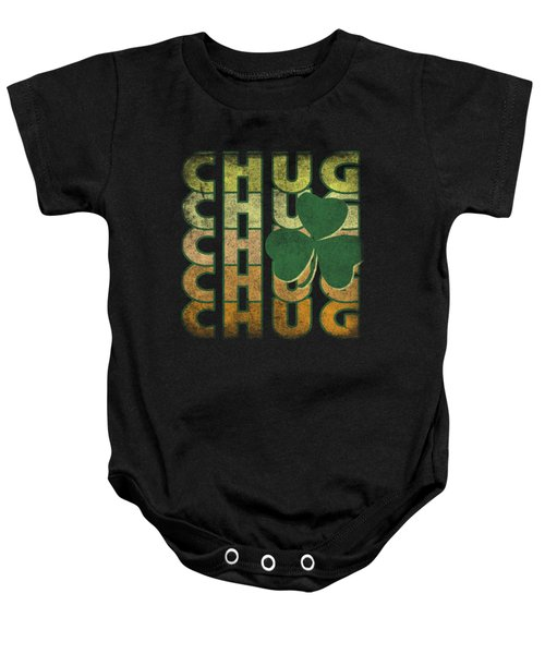 Irish Chug Vintage Baby Onesie