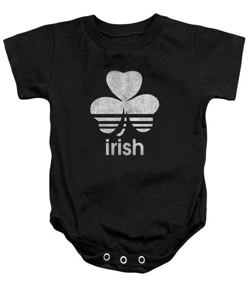 Irish Logo Vintage Baby Onesie