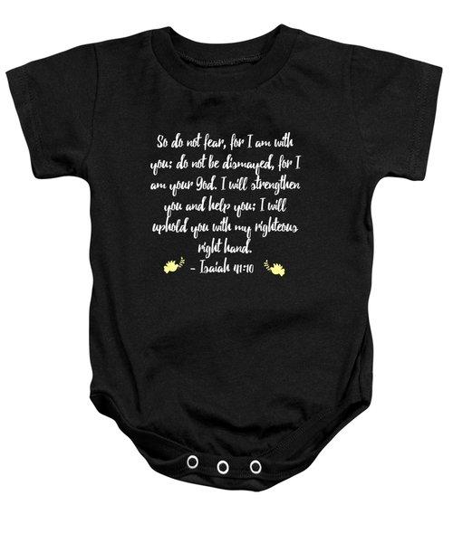 Isaiah 4110 Bible Baby Onesie
