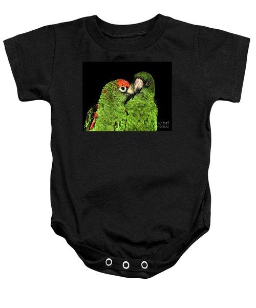 Jardine's Parrots Baby Onesie
