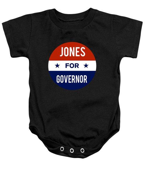 Jones For Governor 2018 Baby Onesie