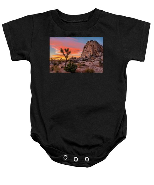 Joshua Tree Sunset Baby Onesie