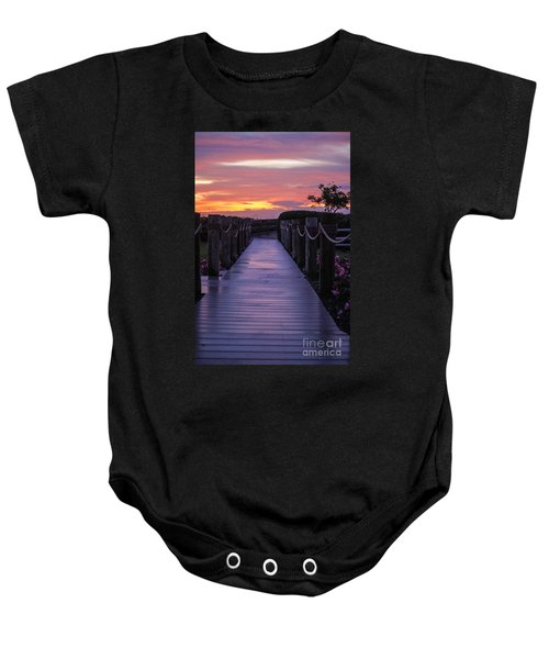 Just Another Day In Paradise Baby Onesie