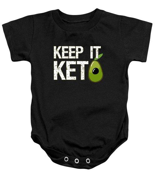 Keep It Keto Baby Onesie