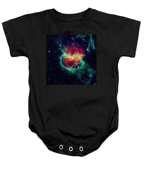Lambda Centauri Nebula Enhanced Baby Onesie