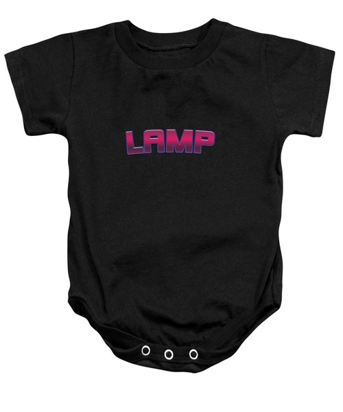 Lamp #lamp Baby Onesie