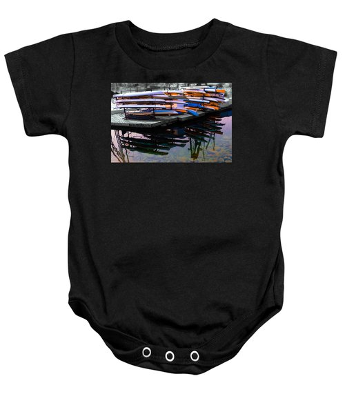 Layers And Layers By The Water Baby Onesie