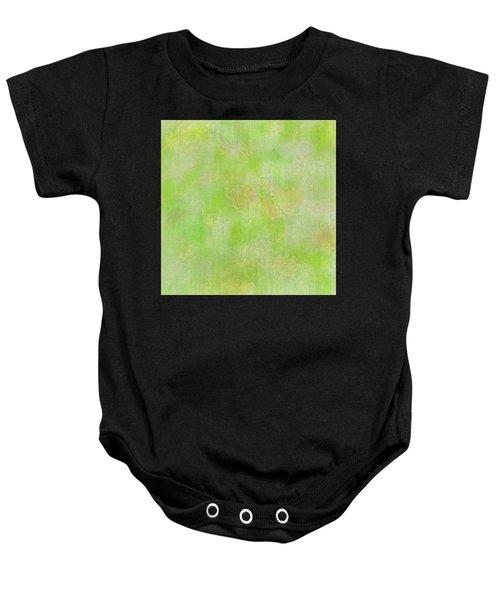 Lime Batik Print Baby Onesie