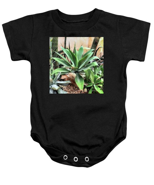 Lion's Tail Agave Baby Onesie