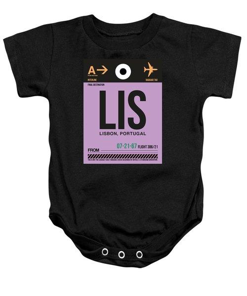Lis Lisbon Luggage Tag I Baby Onesie