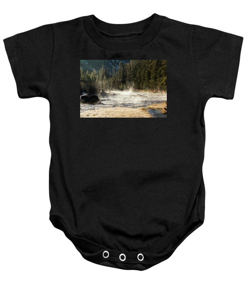 Madison River Morning Baby Onesie