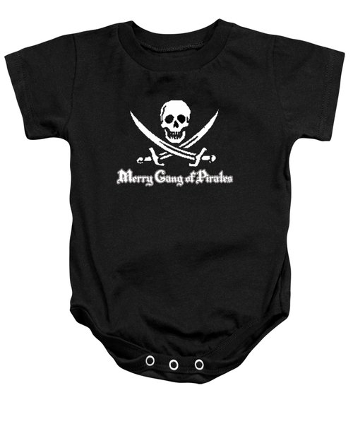 Merry Gang Of Pirates Baby Onesie