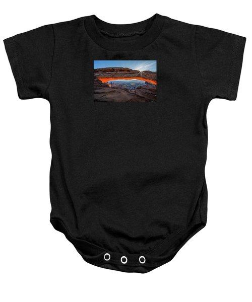 Mesa Arch Sunrise 2017 Baby Onesie