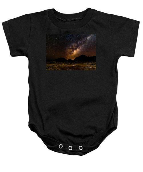Milkyway Over Spitzkoppe 2, Namibia Baby Onesie