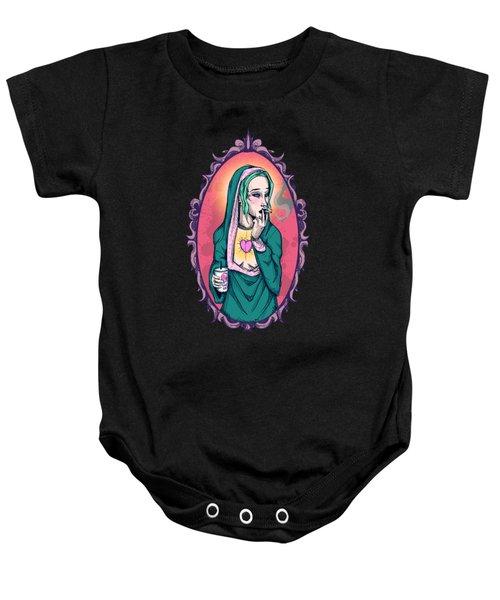 Modern Mary Baby Onesie
