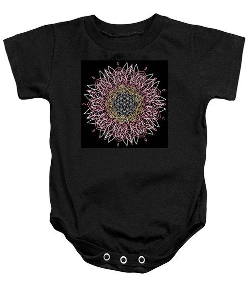 Moon Mandala Baby Onesie