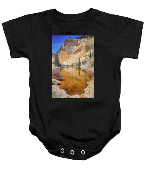 Mountain Reflections Baby Onesie