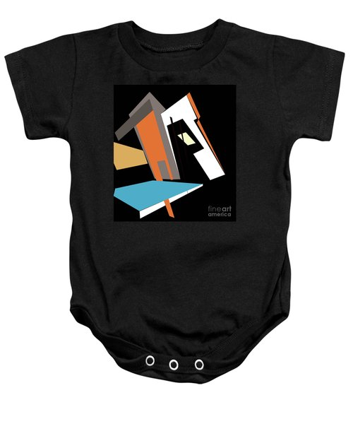 My World In Abstraction Baby Onesie
