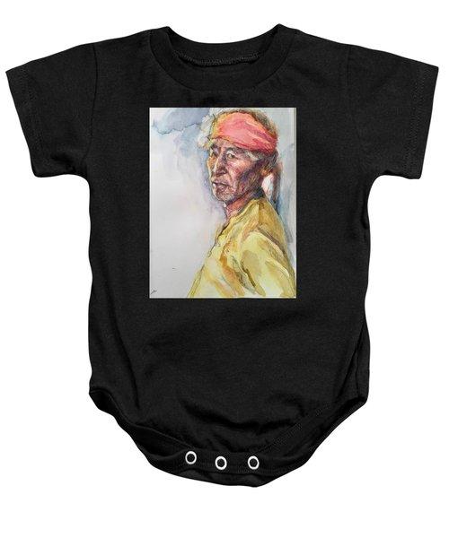 Navaho Man Baby Onesie