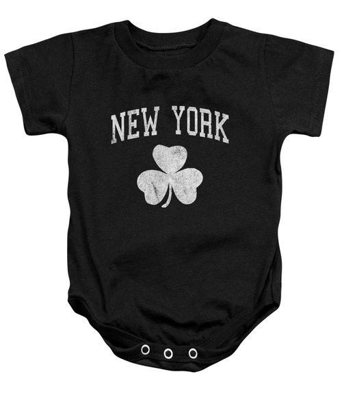 New York Irish Baby Onesie