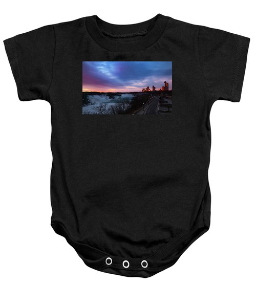 Niagara Falls At Sunrise Baby Onesie