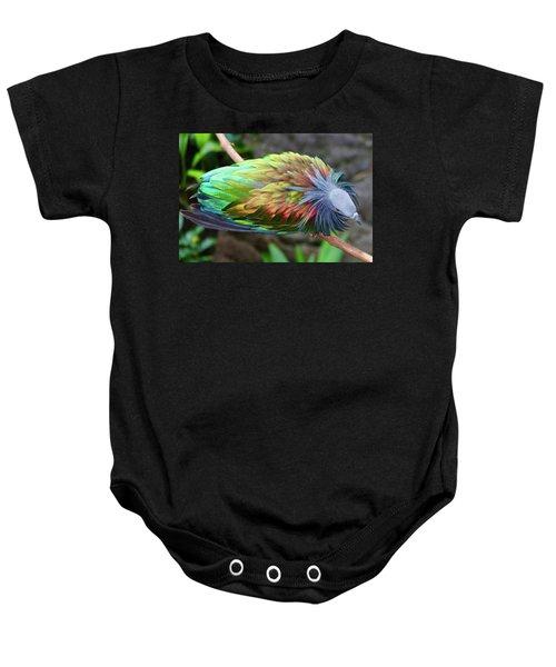 Nicobar Pigeon Baby Onesie