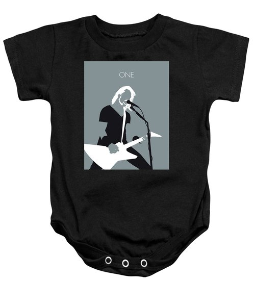 No257 My Metallica Minimal Music Poster Baby Onesie