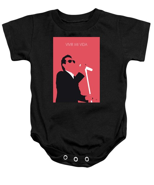 No292 My Marc Anthony Minimal Music Poster Baby Onesie