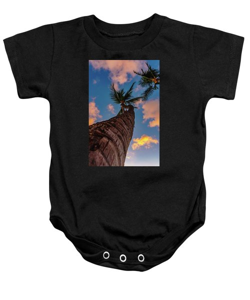 Palm Upward Baby Onesie