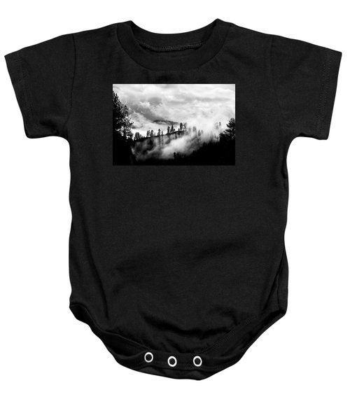 Passing Storm Central Idaho Mountains Baby Onesie
