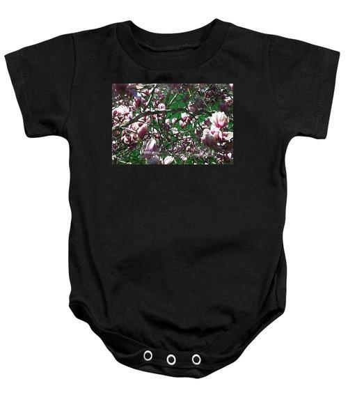 Pink Bush Baby Onesie